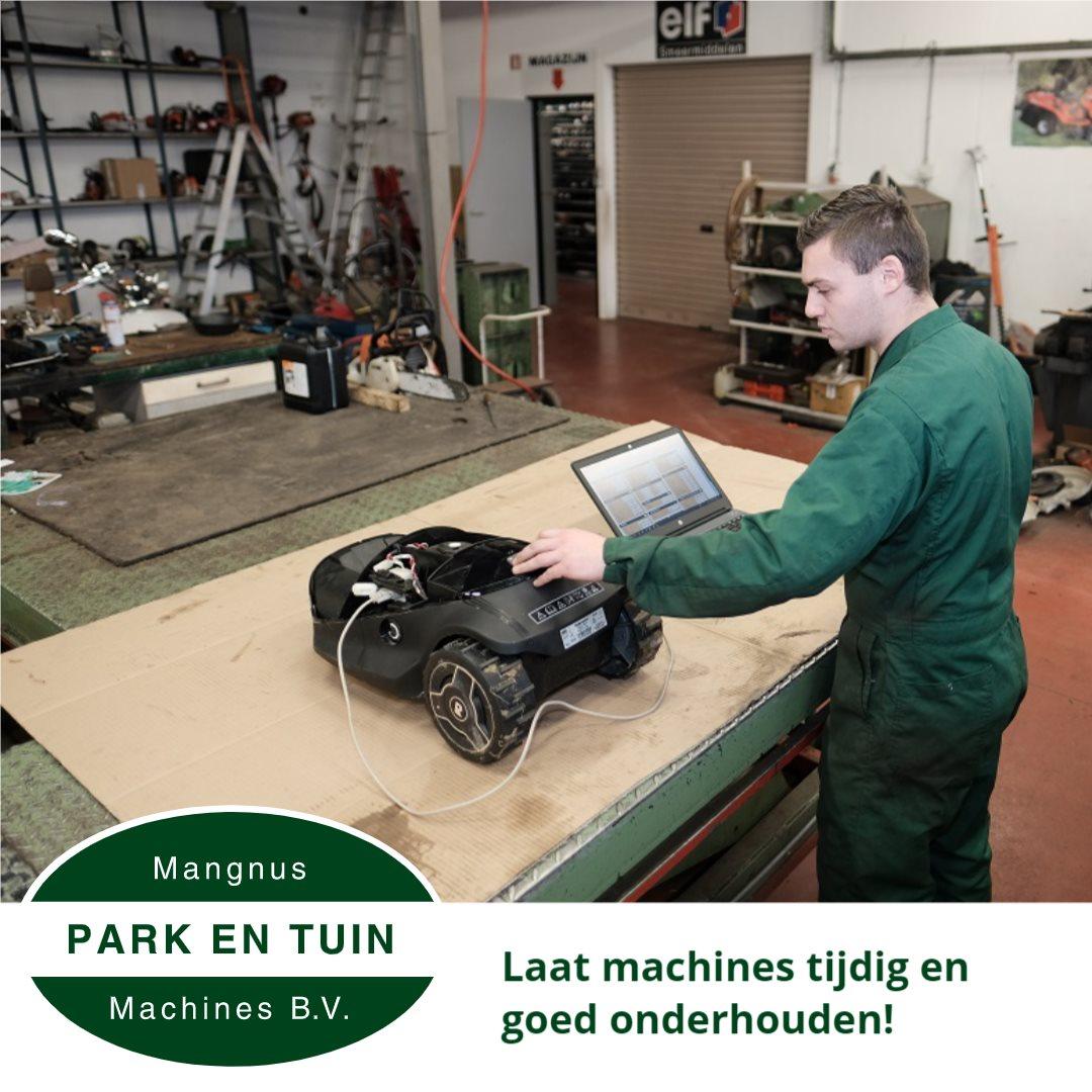 Bereik het beste resultaat met een goed onderhouden machine!